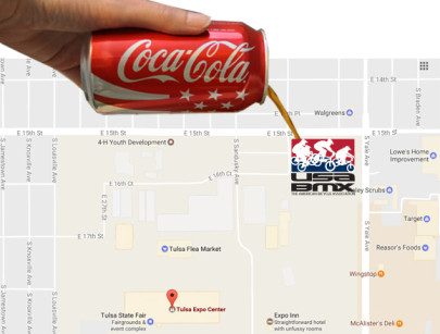 "Coca-Cola ""Pour Rights"" Take the Fizz Out of</br>USA BMX Expo Square Plan"