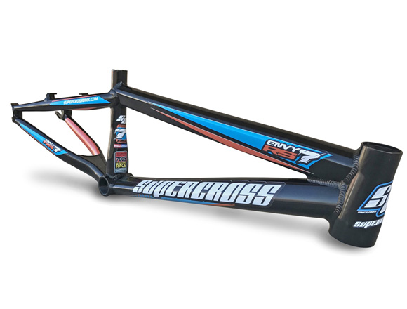 The RS7 Aluminum BMX Race Frame by Supercross BMX