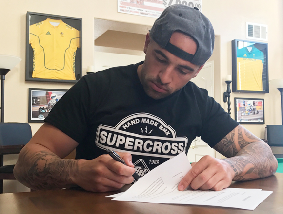Anthony Dean Locks-In With Supercross