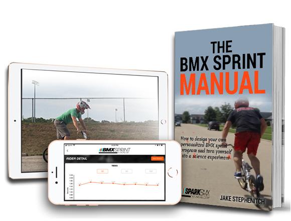 BMX Sprint Timer App