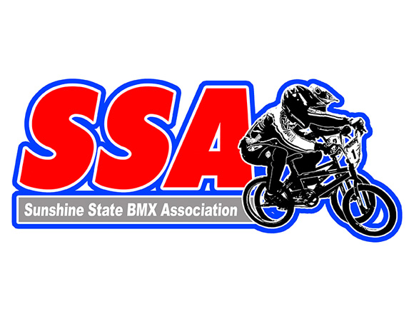 Logo for the Sunshine State BMX Association