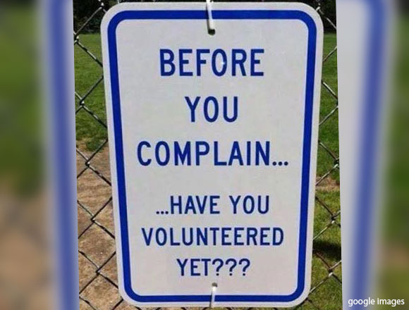 Before You Complain...