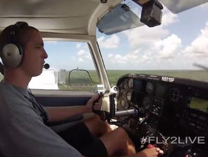 Flying: Tucker Rice