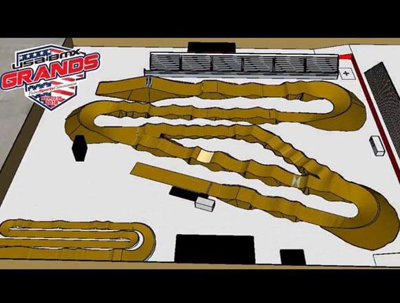 2018 USA BMX Grands Track Design