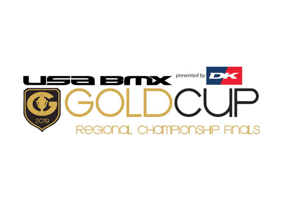 Locations of 2019 USA BMX Gold Cup Finals