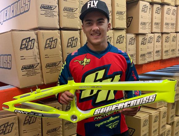 Kamren Larsen Joins Factory Supercross